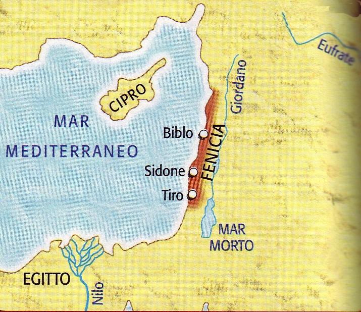 Cartina Geografica Dei Fenici.La Profezia Della Scomparsa Di Tiro Si E Avverata
